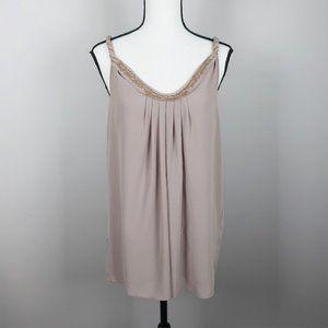 Miss Me Couture Top Sequin Neckline Size Large